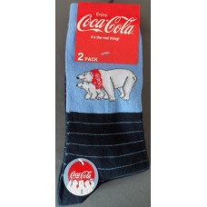 Polar bear Jeans socks dark blue' 2-pack size 35-38'